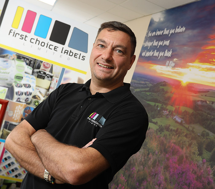 Nigel Willis-  First Choice Labels Managing Director (MD)