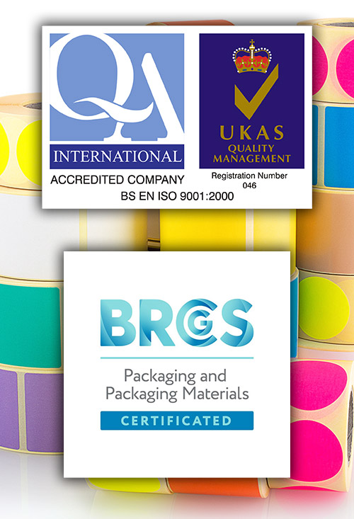 ISO9001 and BRCGS Packaging Certified (ISO 9001)